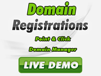 Half-price domain registration service providers